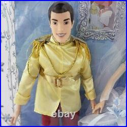 Disney Store Cinderella Doll Once Upon a Wedding RARE Prince Charming SEALED NEW