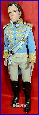 Disney Store Cinderella Live Action Film Collection Prince Charming Doll