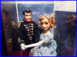 Disney Store Cinderella Prince Charming Fairytale Designer Doll Limited Edition