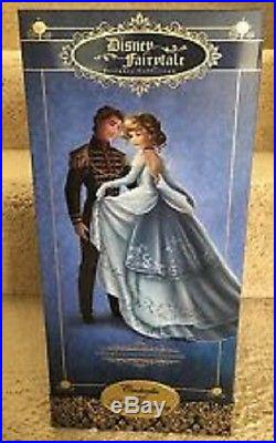 Disney Store Cinderella Prince Charming Fairytale Designer Limited Edition Doll