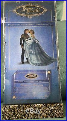 Disney Store Fairytale Designer Collection Cinderella Prince Charming +FREE GIFT