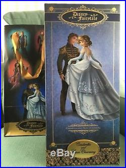 Disney Store Fairytale Designer Collection Cinderella & Prince Charming Limited