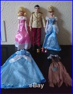 Disney Store singing Cinderella and Prince Charming doll