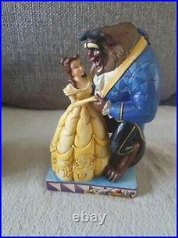 Disney Tradition Cinderella Prince Charming Royal Romance Belle & Beast figurine