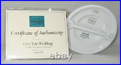 Disney WDCC CINDERELLA & PRINCE CHARMING / FAIRY TALE WEDDING withCOA NO Box