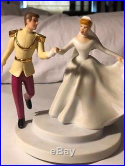 Disney cinderella and prince charming cake top collectoble limited edittion