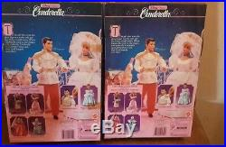 Disney's Cinderella and Prince Charming dolls 1991 Ages 3 and up NIB