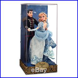 Disney's Fairytale Designer Collection CINDERELLA & PRINCE CHARMING Doll Set NEW