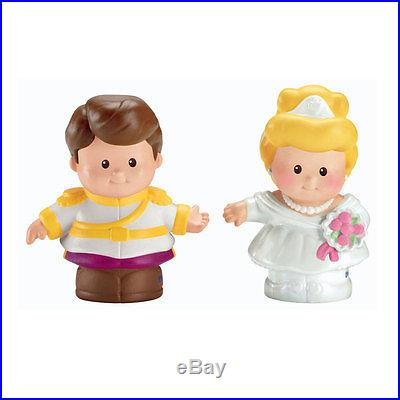 Fisher-Price Little People Disney 2 Pack Cinderella & Prince Charming