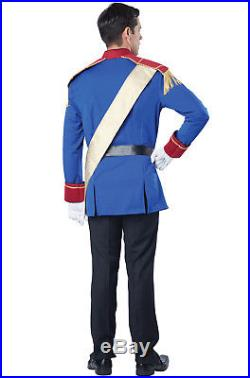 Halloween Costume Men's Prince Charming Cinderella Fairytale Storybook Outfit