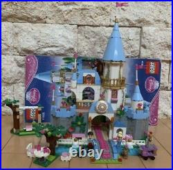 LEGO 41055 Cinderella Castle used no box Disconnected incomplete