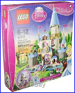 LEGO Cinderella's Romantic Castle Disney Princess Set 41055 w Prince Charming