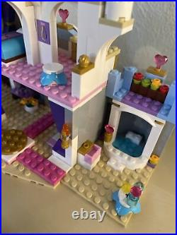 Lego 41055 Cinderella Romantic Castle Set With Figures And Manual