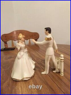 Lenox Diney Showcase Collection Cinderella & Prince Charming- MINT CONDITION