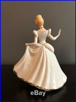 Lenox Disney Cinderella And Prince Charming Figurines, Showcase Collection
