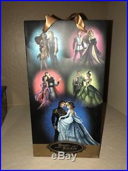 Limited Edition Cinderella and Prince Charming Dolls Disney Store Display