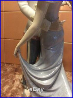 Lladro Cinderella And Prince Charming At The Ball 13.5 Tall Dated 1985