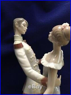 Lladro Cinderella and Prince Charming #5398 Retired Excellent Condition