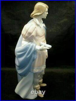 Lladro The Prince # 6092 Figurine 10.5 inches Tall. Looking for Cinderella