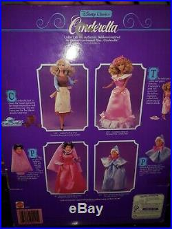 Lot Mattel Disney Cinderella Prince Charming Fairy Godmother Wicked Stepmother