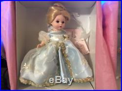 Madame Alexander Dolls lot of 2 Stroke of Midnight Cinderella & Prince Charming