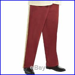 Mens Prince Charming Costume Plus Size Jacket Pants Cinderella Halloween