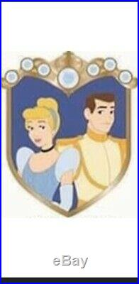 Mickeys Of Glendale WDI Cinderella And Prince Charming Cast Member Pin