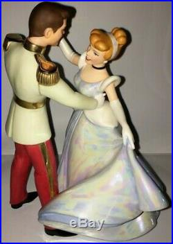 NEW Cinderella and Prince Charming So This Is Love WDCC withBox and COA