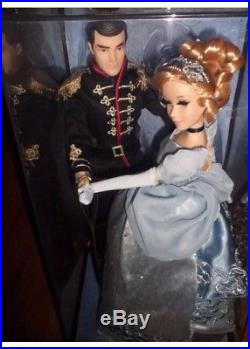NEW Disney Cinderella And Prince Charming Fairytale Couples Collector LE Doll