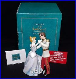 NEW Disney WDCC figure Cinderella SO THIS IS LOVE Prince Charming NIB with COA