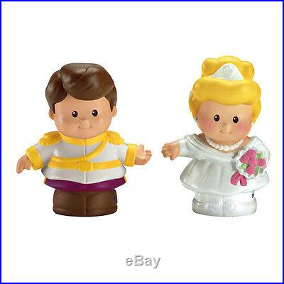 NEW! FISHER PRICE Little People Disney Cinderella & Prince Charming