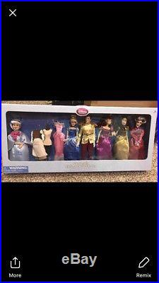 New Disney Store Cinderella Deluxe Doll Gift Set Prince Charming Lady Tremaine