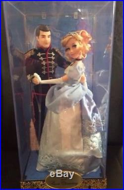 New Disney Store Limited Edition LE Fairytale Cinderella Prince Charming Doll