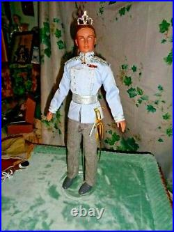 New! Tonner Rare 17 Vinyl Doll Prince Charming Outfit Only-cinderella Excellent
