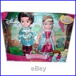 Once Upon a Time Little Cinderella and Prince Charming 38cm Dolls. Playmates