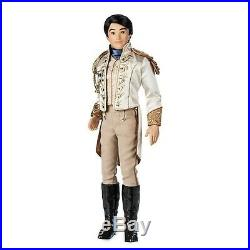 PRINCE CHARMING 17 70th Disney Store Doll Limited Edition Cinderella set LE 600