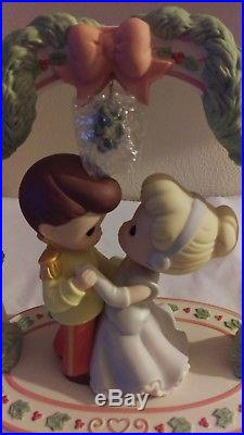 Precious Moments Disney Cinderella + Prince Charming Knowing you're in love