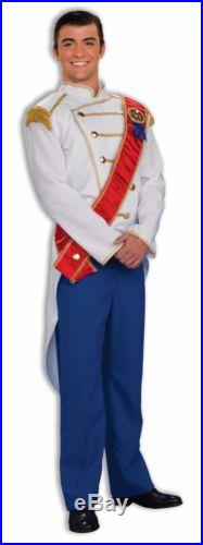 Prince Charming Adult Costume Standard Size NEW Cinderella