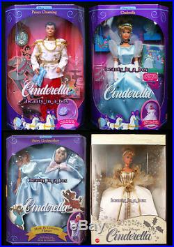 Prince Charming Disney Classic Doll Cinderella Gold Winter Fairy Godmother Mask