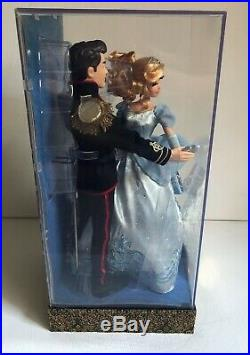 RARE Cinderella and Prince Charming Disney Designer Doll Limited Edition #4,474