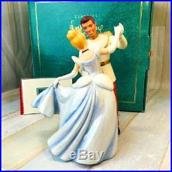 Rare Wdcc Cinderella And Prince Charming Dance Figure Disney Tdl Pottery