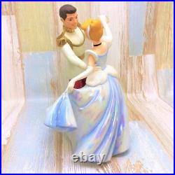 Rare Wdcc Cinderella And Prince Charming Dance Pvc Figure Disney Tdl Pottery