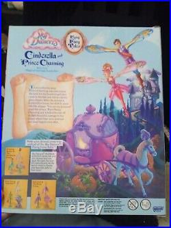 Sky Dancers Cinderella And Prince Charming 1996 Vintage Mint In Box