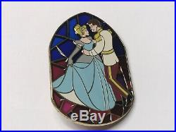 Stained Glass Cinderella Princess Prince Charming LE 100 Disney Shopping. Com Pin