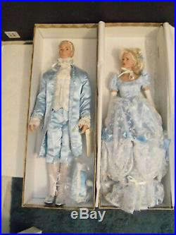 Tonner Dolls Cinderella and Prince Charming 1999 in original boxes