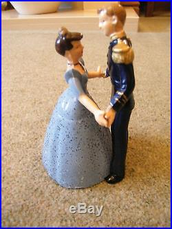 VINTAGE CINDERELLA AND PRINCE CHARMING(WALTZING FIGURES) ORGINAL BOX