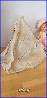 Vintage 1949 Vogue Ginny Painted Eye Cinderella And Prince Charming