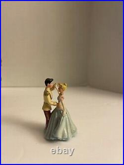 Vintage Disney Music Box Cinderella And Prince Charming Figurine So This Is Love