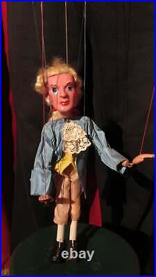 Vintage Pelham Puppet Cinderella and Prince Charming Marionettes SL type in Box