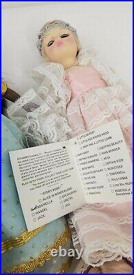Vintage lot 8 Effanbee 14 Inch Character Dolls Prince Charming Cinderella